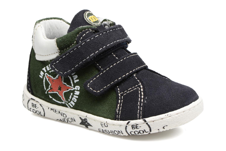 Sneakers Melania POLACCO VELCRI Blauw detail