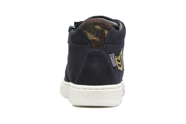 Sneakers Melania POLACCO LACCI Azzurro immagine destra