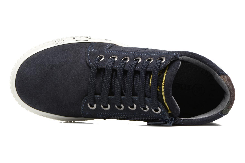 Sneaker Melania POLACCO LACCI blau ansicht von links