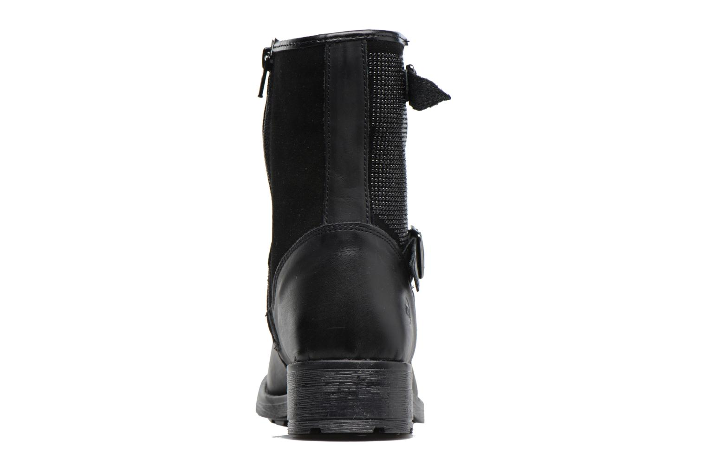 Stiefel Melania STIVALE FIBBIE schwarz ansicht von rechts