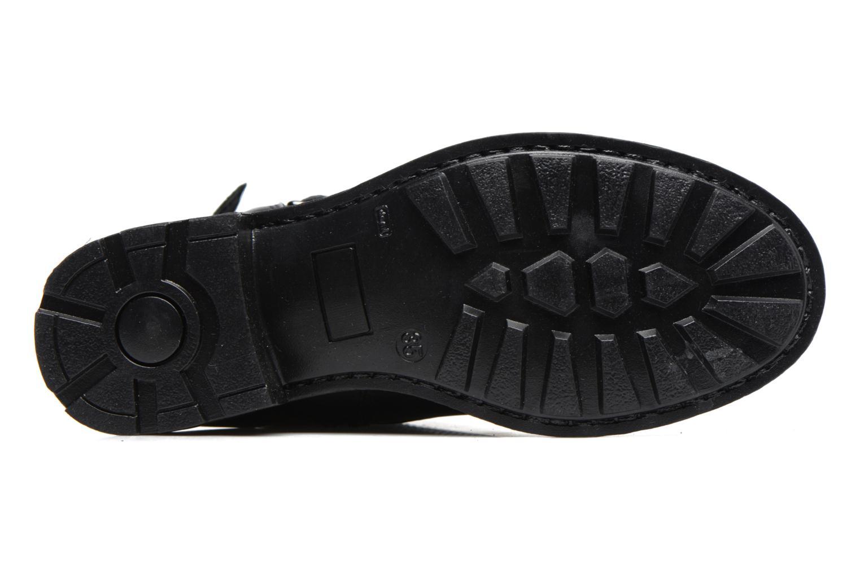 Stiefel Melania STIVALE FIBBIE schwarz ansicht von oben