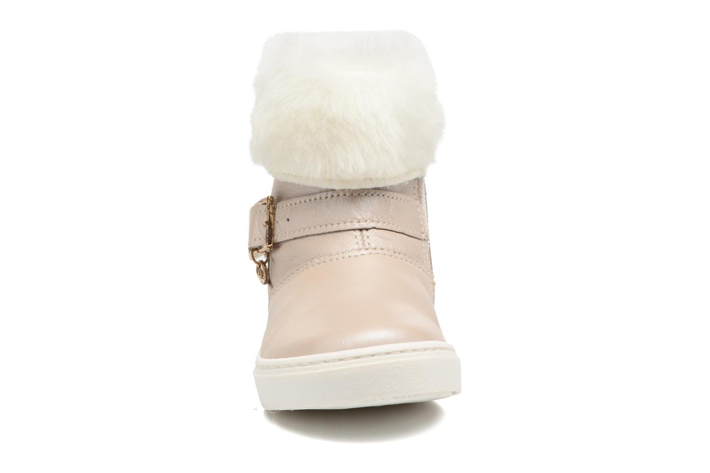 Stiefel Melania STIVALE FIBBIA silber schuhe getragen