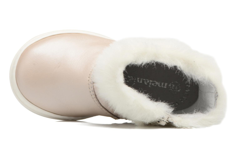 Stiefel Melania STIVALE FIBBIA silber ansicht von links