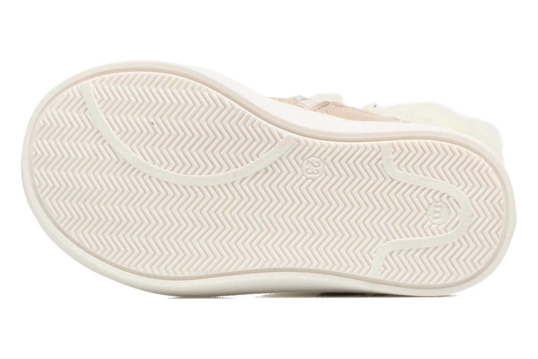 Stiefel Melania STIVALE FIBBIA silber ansicht von oben