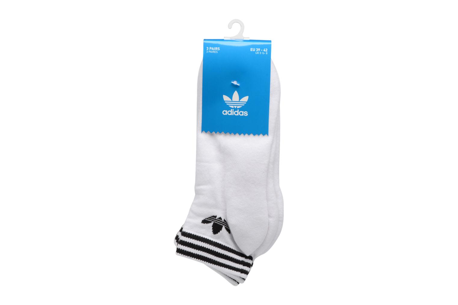 Socks & tights Adidas Performance TREFOIL ANK STR White model view