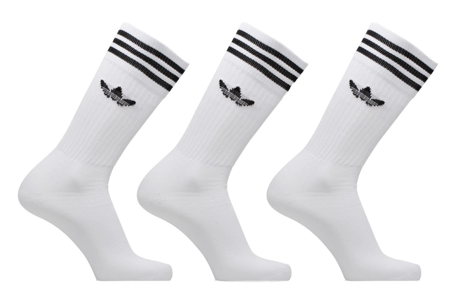 Socks & tights Adidas Performance SOLID CREW SOCK White detailed view/ Pair view
