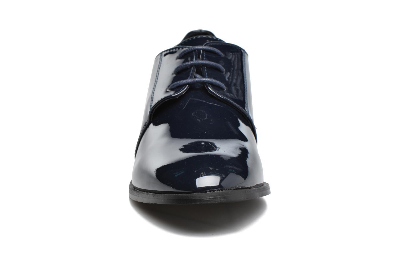 Scarpe con lacci I Love Shoes CLEMIA Azzurro modello indossato