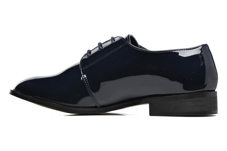 Scarpe con lacci I Love Shoes CLEMIA Azzurro immagine frontale