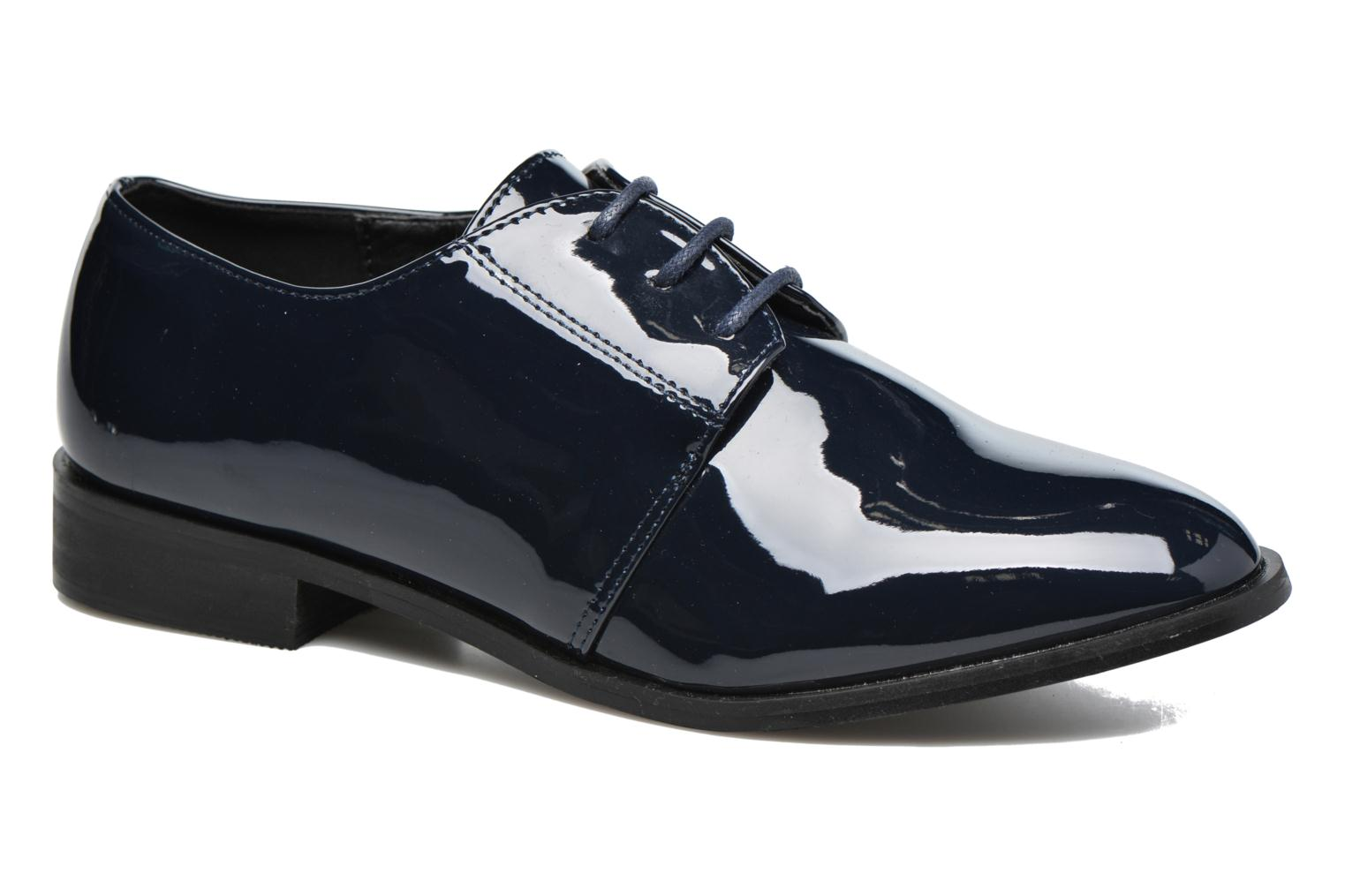 Lace-up shoes I Love Shoes CLEMIA Blue detailed view/ Pair view