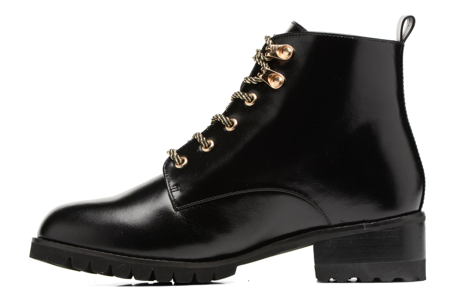 Ankle boots Mellow Yellow Calouise Black front view