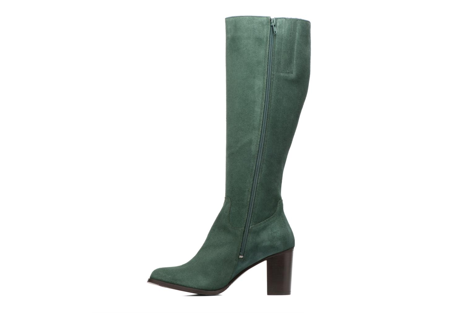 Boots & wellies Mellow Yellow Charyna Green front view