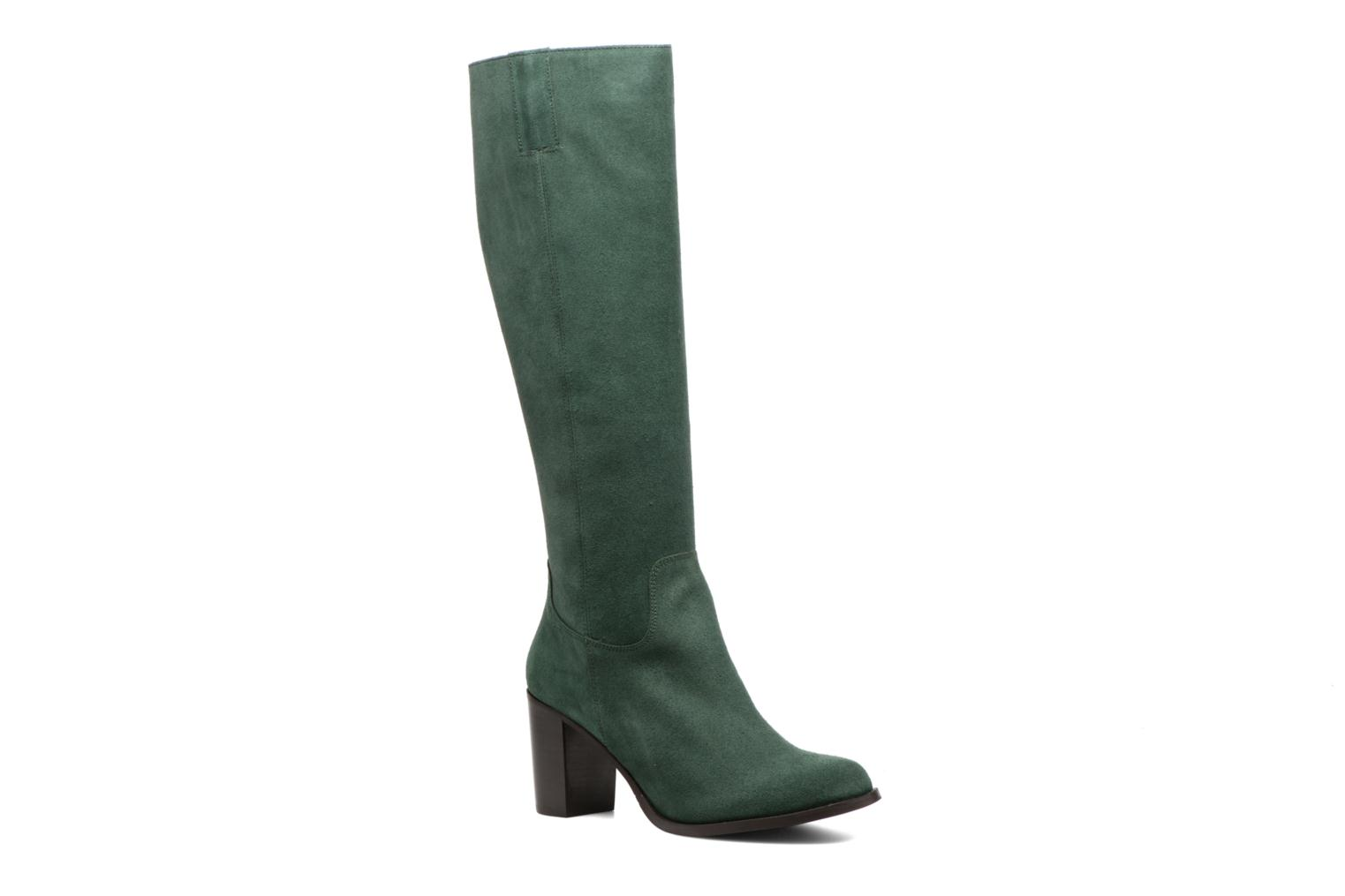 Boots & wellies Mellow Yellow Charyna Green detailed view/ Pair view