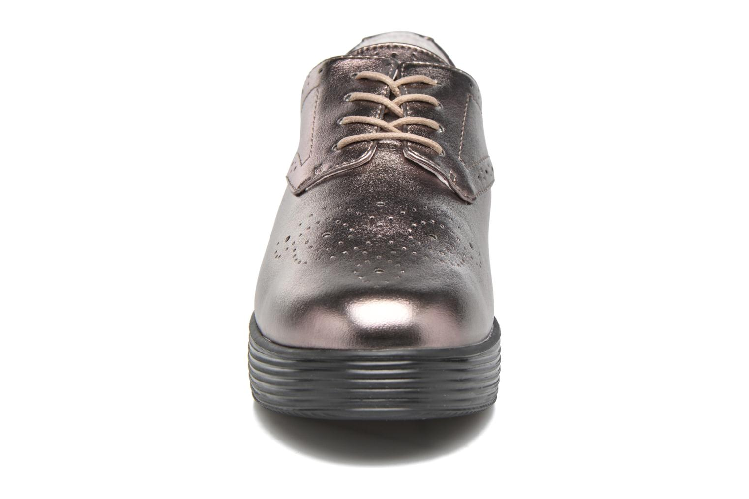 Lace-up shoes Mellow Yellow Clanary Bronze and Gold model view