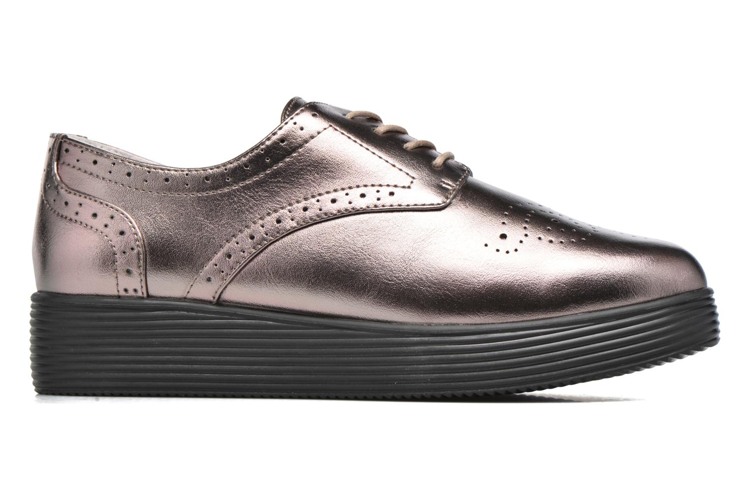 Lace-up shoes Mellow Yellow Clanary Bronze and Gold back view