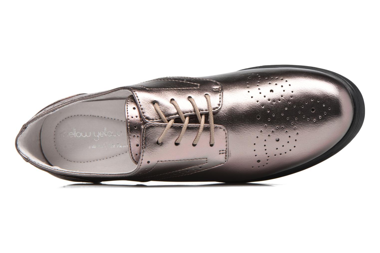 Zapatos con cordones Mellow Yellow Clanary Oro y bronce vista lateral izquierda