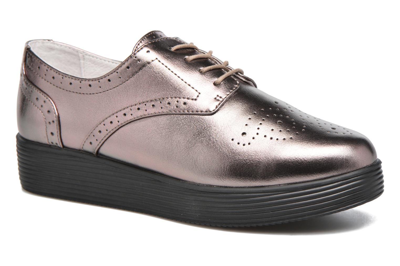Zapatos con cordones Mellow Yellow Clanary Oro y bronce vista de detalle / par