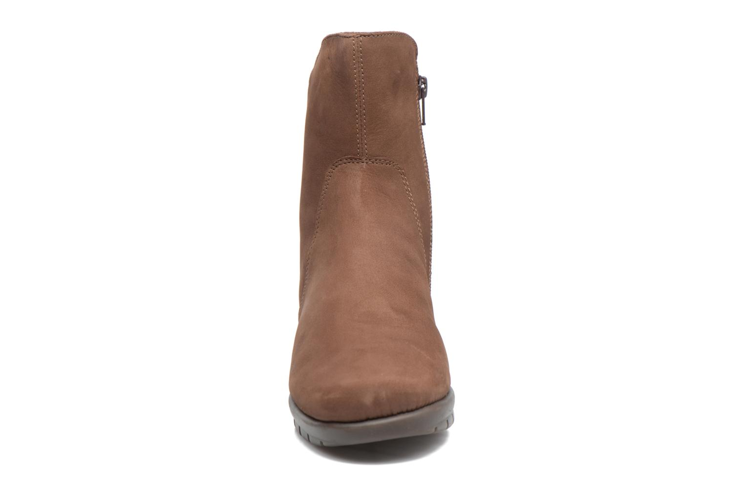 Ankle boots Aerosoles New Moves Brown model view