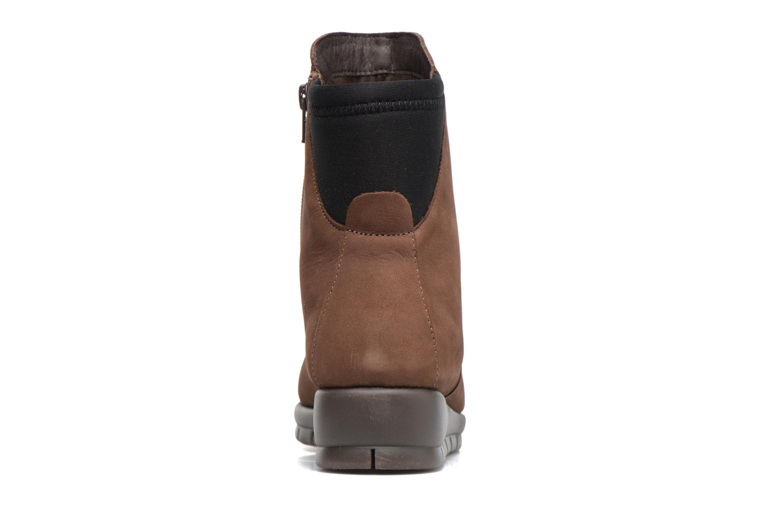 Ankle boots Aerosoles New Moves Brown view from the right