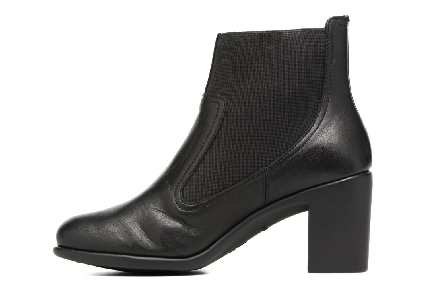 Ankle boots Aerosoles Hole Again Black front view