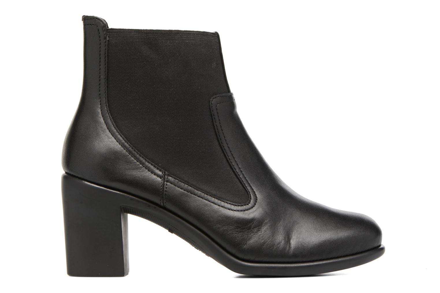 Ankle boots Aerosoles Hole Again Black back view