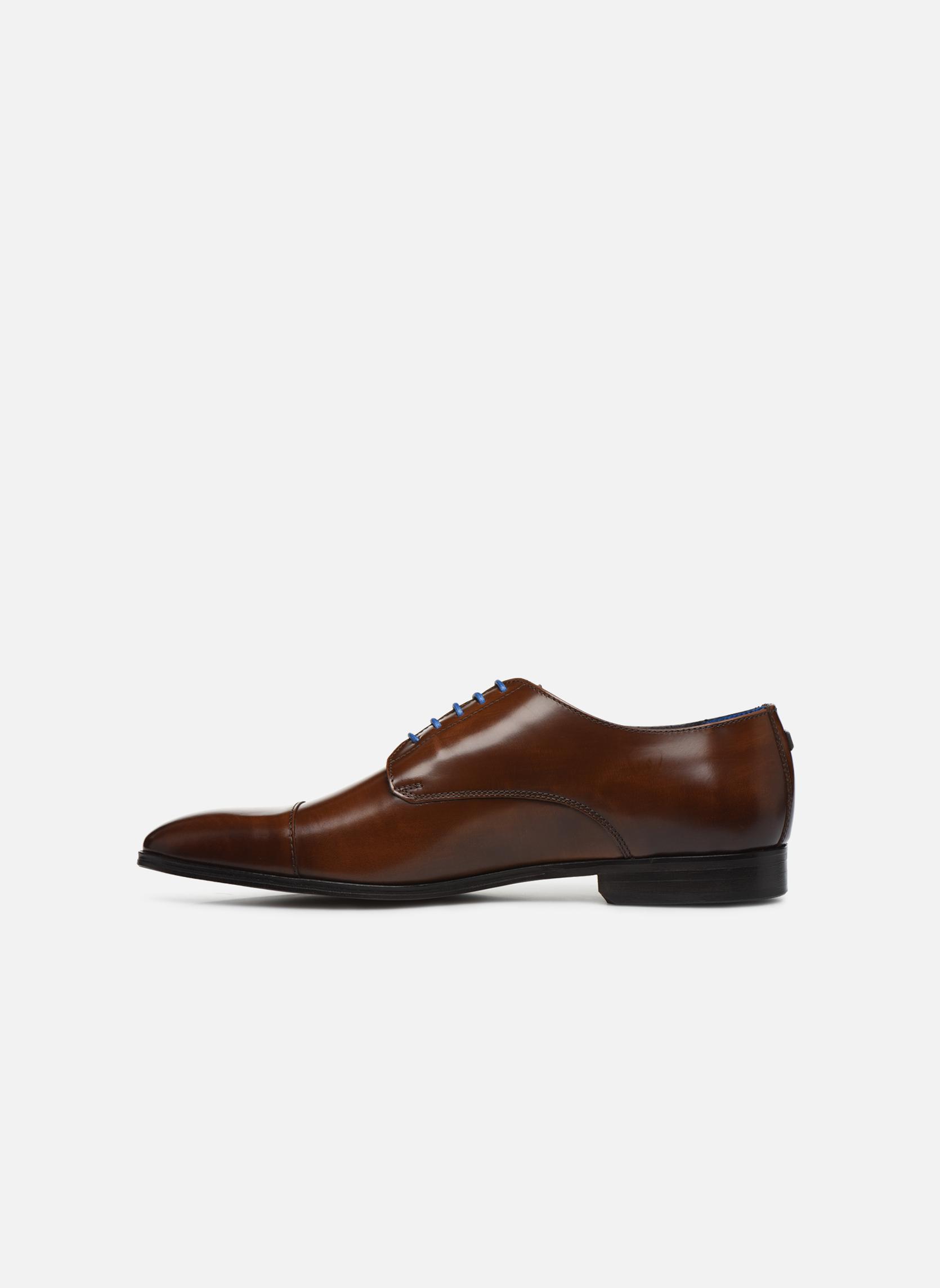 Chaussures à lacets Azzaro REMAKE Marron vue face