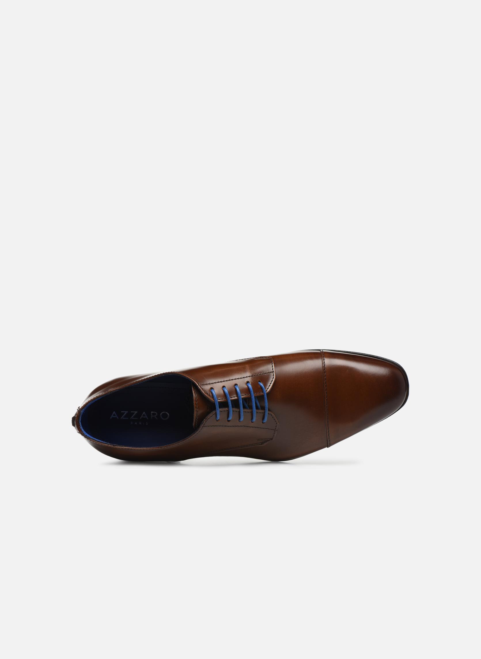 Chaussures à lacets Azzaro REMAKE Marron vue gauche