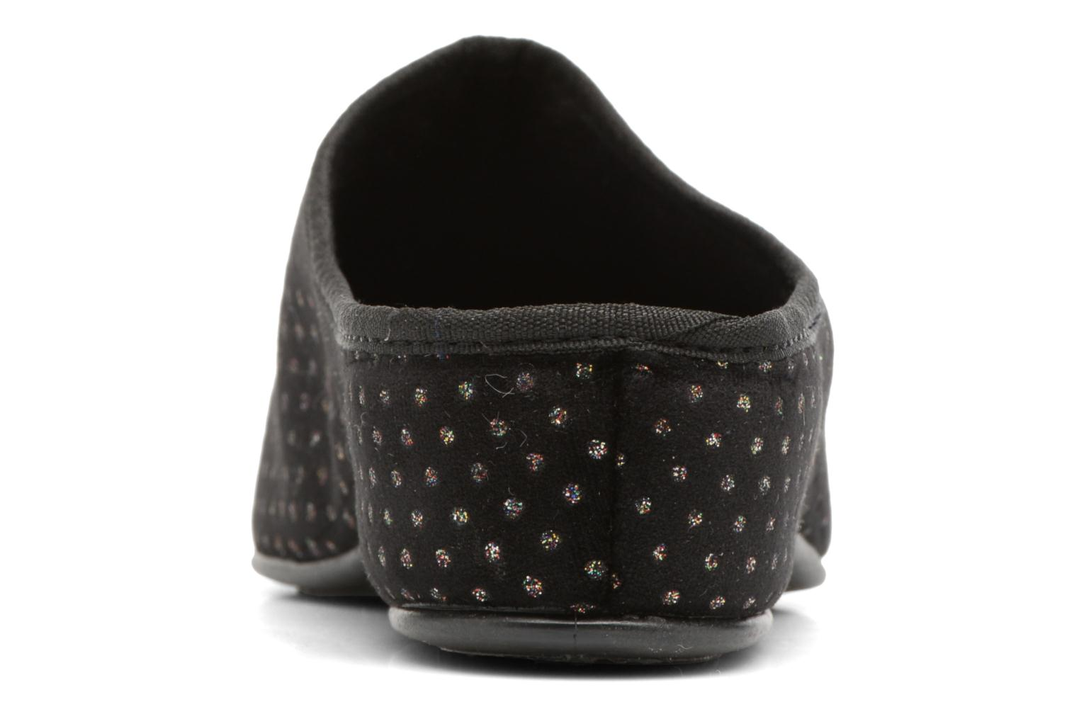 Chaussons Rondinaud Harcy Noir vue droite