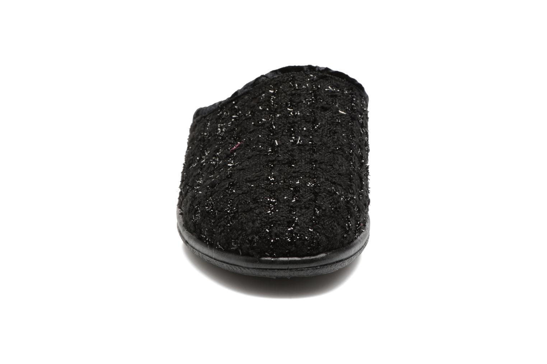 Chaussons Rondinaud Empeaux Noir vue portées chaussures