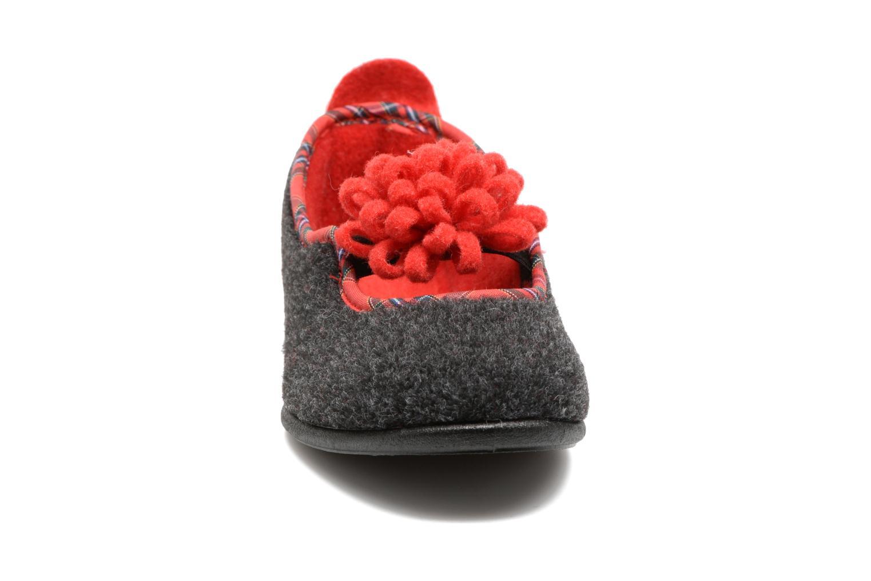 Chaussons Rondinaud Achen Gris vue portées chaussures