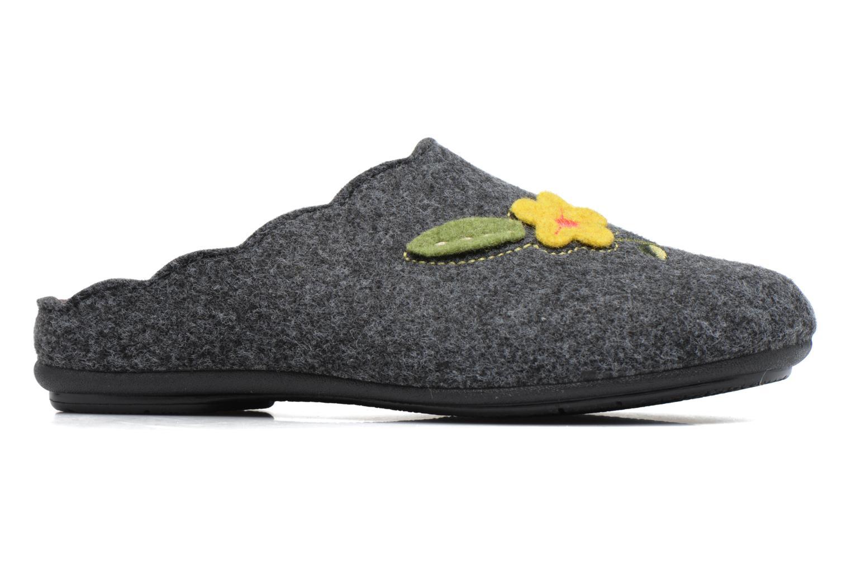 Pantoffels Rondinaud Terrette Grijs achterkant
