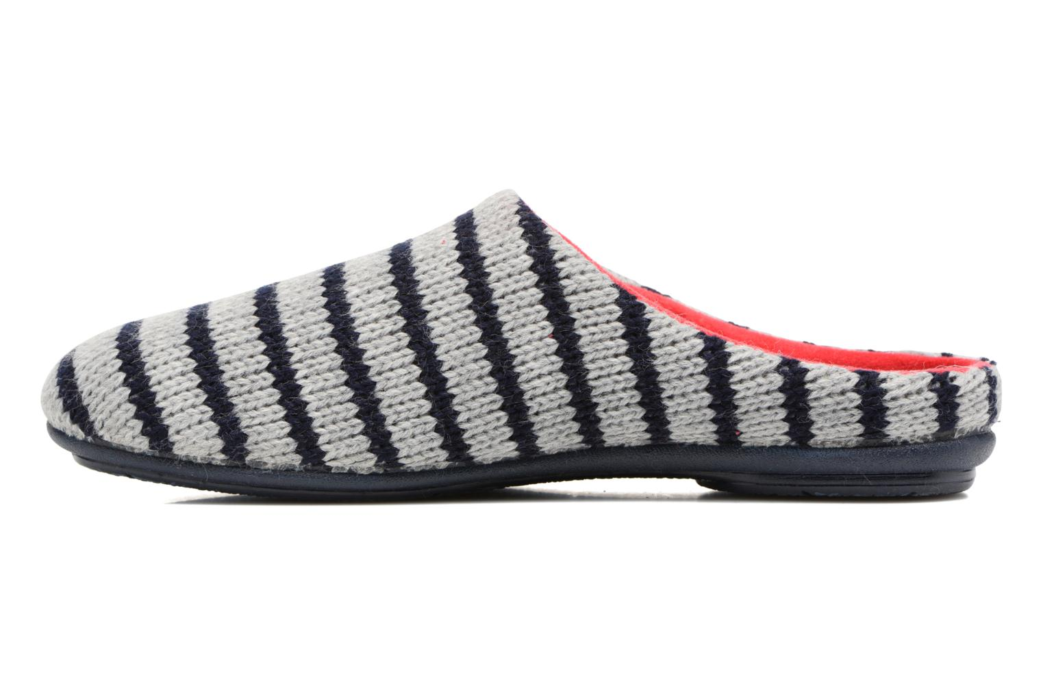 Chaussons Rondinaud Drance Rouge vue face