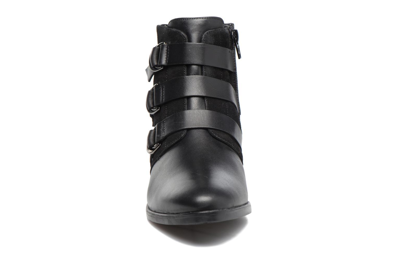Bottines et boots Georgia Rose Olivian Noir vue portées chaussures