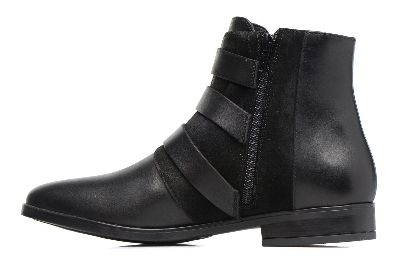 Bottines et boots Georgia Rose Olivian Noir vue face