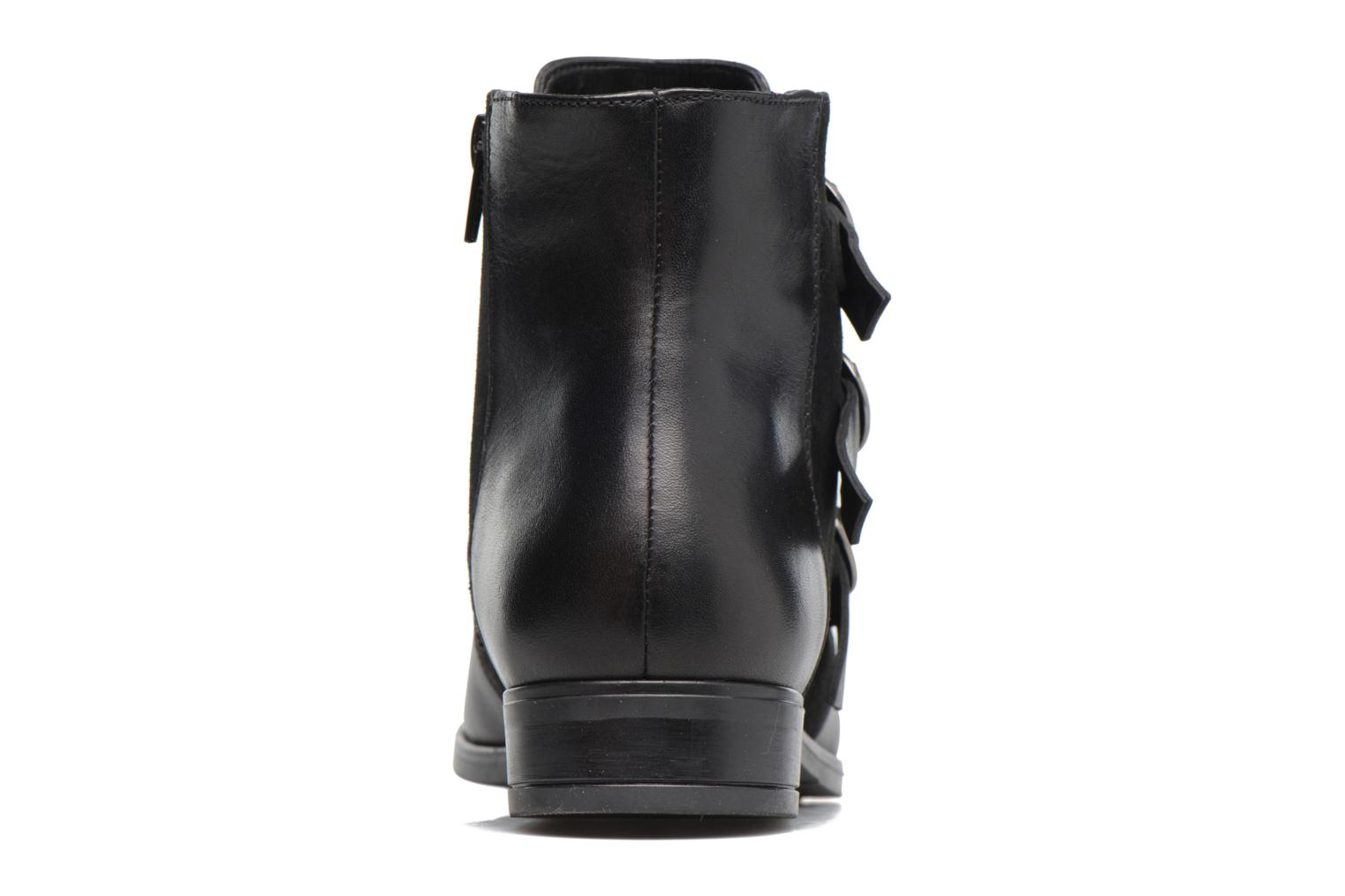 Ankle boots Georgia Rose Olivian Black view from the right