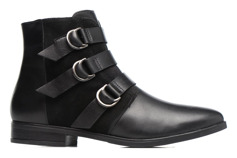Bottines et boots Georgia Rose Olivian Noir vue derrière