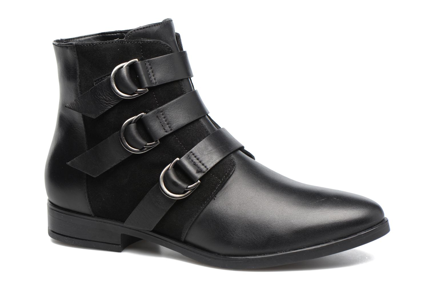 Ankle boots Georgia Rose Olivian Black detailed view/ Pair view