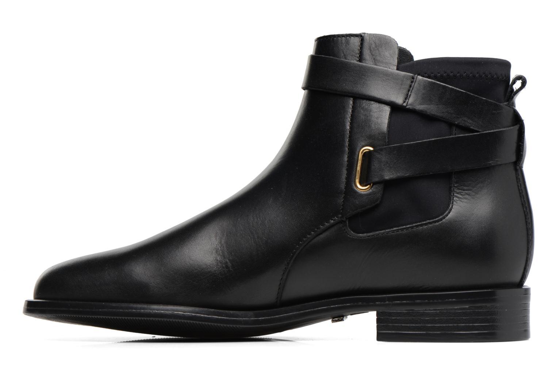Bottines et boots Buffalo Alina Noir vue face