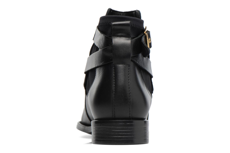 Bottines et boots Buffalo Alina Noir vue droite