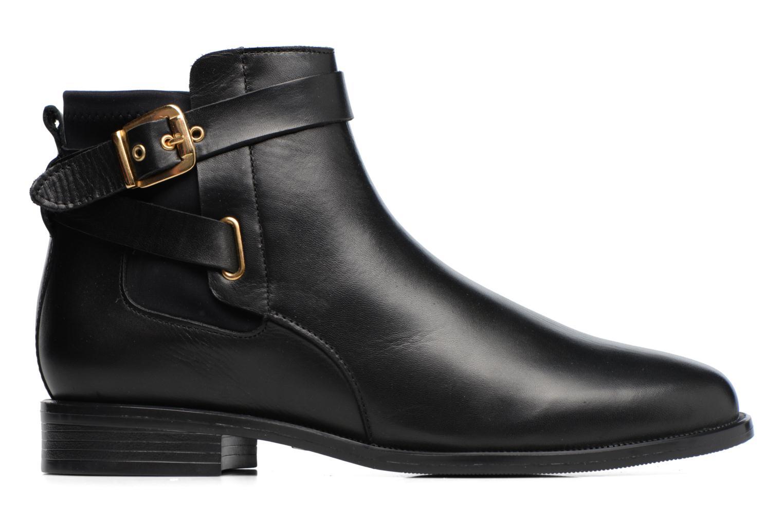 Bottines et boots Buffalo Alina Noir vue derrière