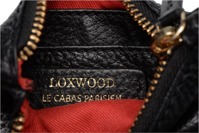 Petite Maroquinerie Loxwood Porte Monnaie Elli Noir vue gauche