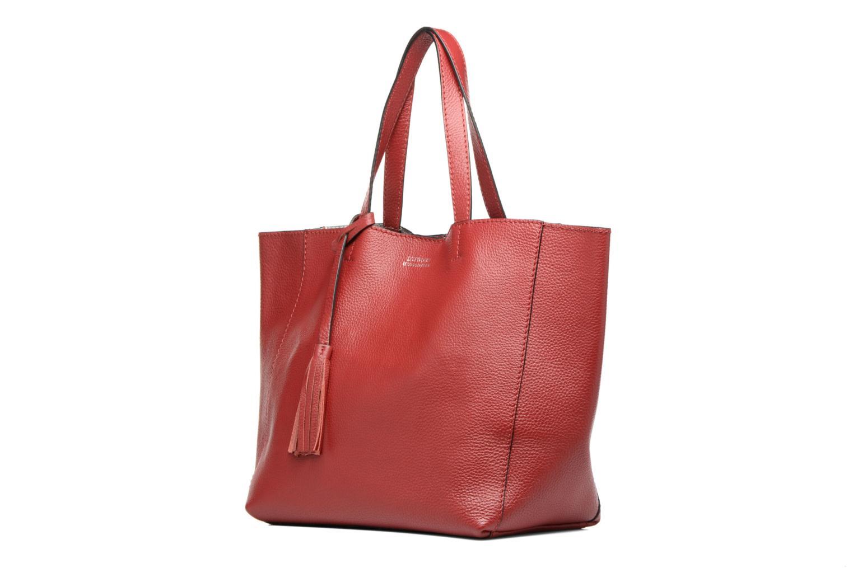 Borse Loxwood Cabas Parisien Mm Rosso modello indossato