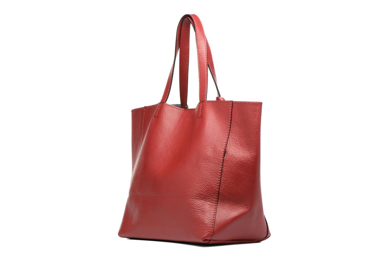Bolsos de mano Loxwood Cabas Parisien Mm Rojo vista lateral derecha