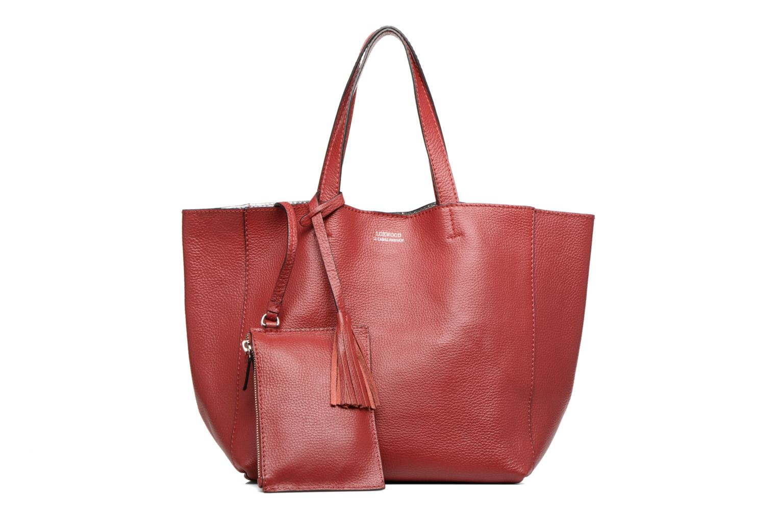 Handbags Loxwood Cabas Parisien Mm Red view from the left