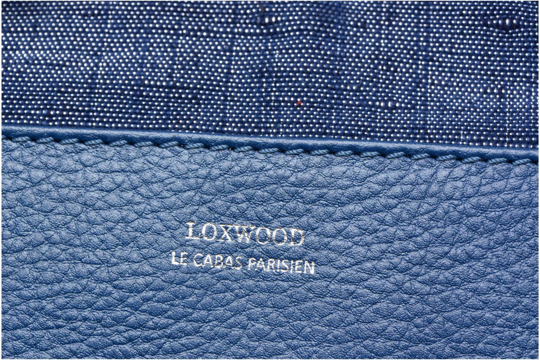 Sacs à main Loxwood Cabas Parisien Gm Poche Bleu vue gauche