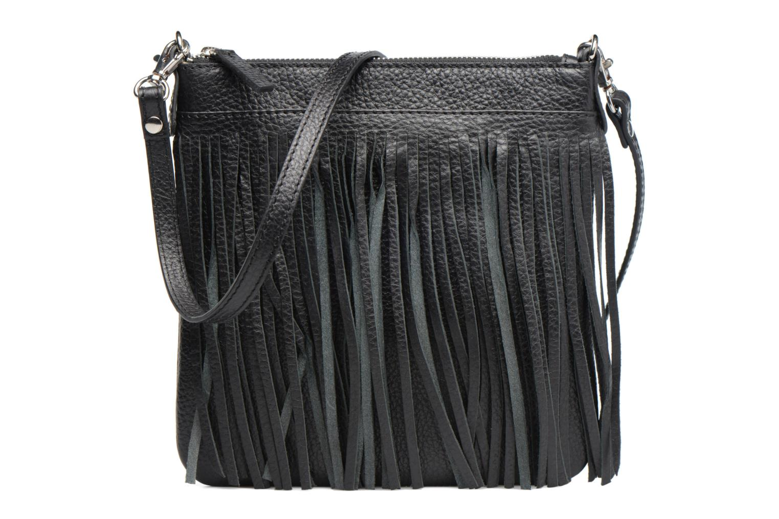 Pochette Floppy Franges Black
