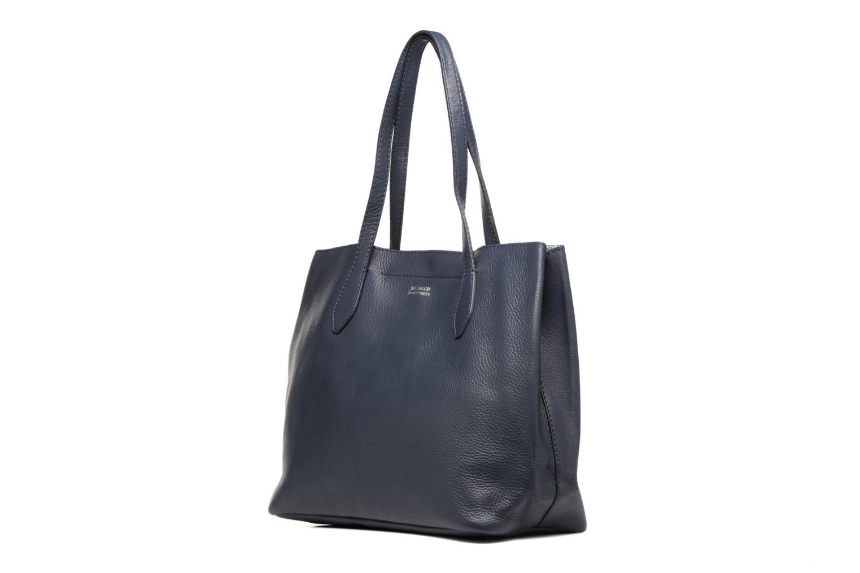 Bolsos de mano Loxwood Sac Shopper Azul vista del modelo