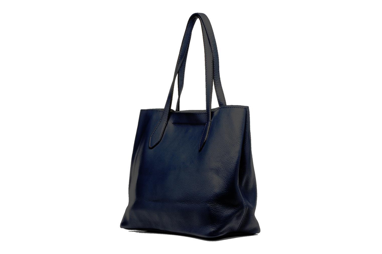 Bolsos de mano Loxwood Sac Shopper Azul vista lateral derecha