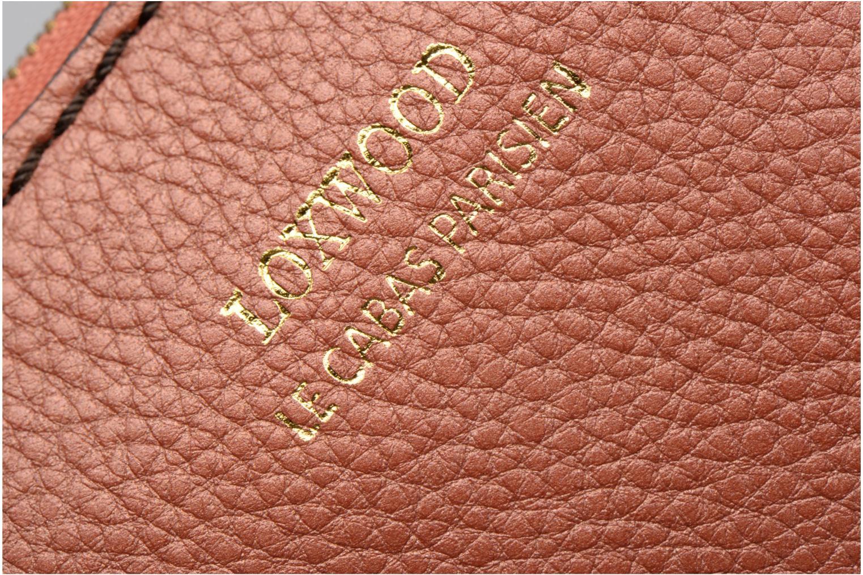 Petite Maroquinerie Loxwood Pochette Floppy Mousqueton Orange vue derrière