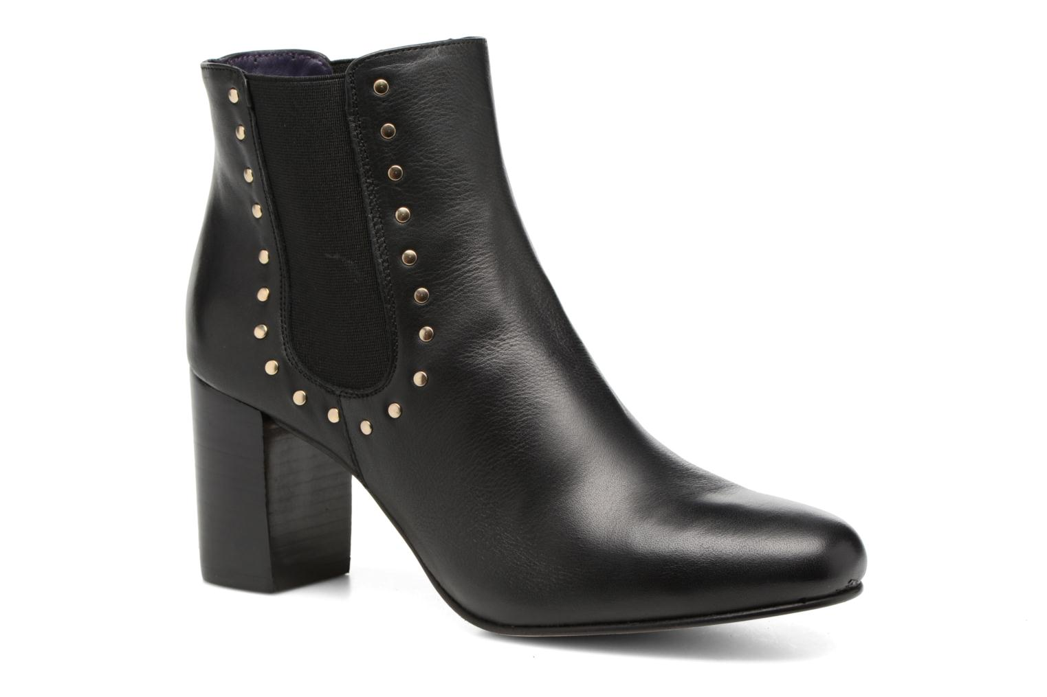 Ankle boots Anaki Mary Black detailed view/ Pair view
