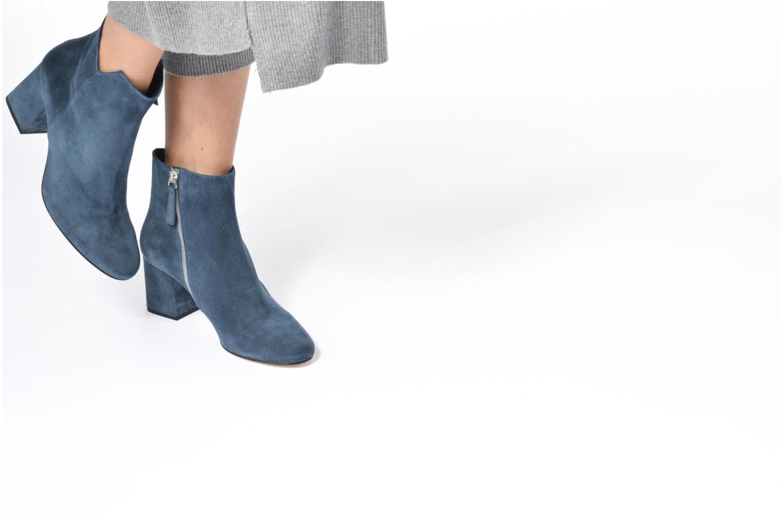 Bottines et boots Anaki Virgin Bleu vue bas / vue portée sac